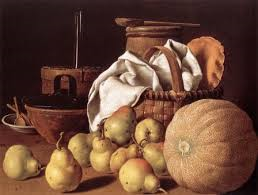Luis Melendez Melon et poires 1770 Museum of Fine Arts (Boston, U.S.A.)