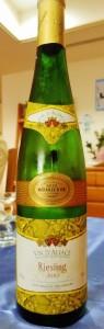 P3200330 vin de jour Alsace Riesling 2010