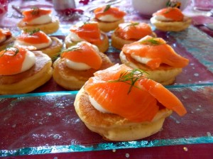 PC050919  Blinis de saumon fume